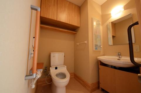 お部屋設置洗面トイレ